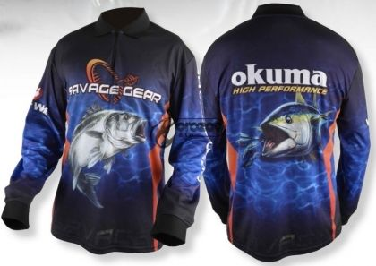 Блуза SG Tournament Jersey Seabass/Tuna Blue  UV50+
