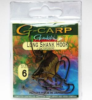 Gamakatsu куки G-Carp LONG SHANK HOOK
