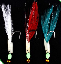 Чепаре Rig6 Hokkai Flash and Mixed Feathers 3 #2 Silver Hook