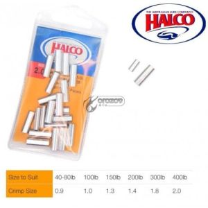 Кримпове Halco Aluminium Single Crimp Sleeve