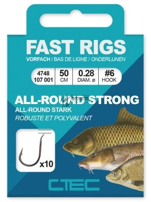 вързани куки SPRO C-Tec Allround Strong Hook Rigs