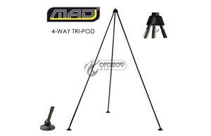 Стойка за претегляне на риба MAD® 4-WAY TRI-POD