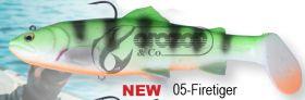 Силикон SG 3D Trout Rattle Shad 12.5cm 35g