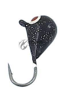 Волфрамови Мормишки с куки Mustad 2.7г / 6мм-10мм