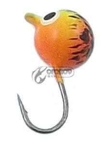Волфрамови Мормишки с куки Mustad 0.7г / 4мм-4мм