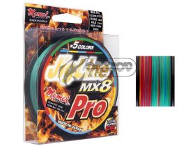 Jig Line MX8 PRO MULTICOLOR Braided Line