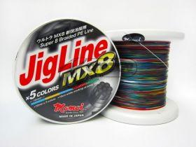 Плетено влакно Jig Line MX8 MULTICOLOR
