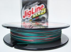 Плетено влакно Momoi Jig Line MX8 MULTICOLOR