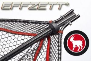Гумиран сгъваем кеп EFFZETT FOLDABLE LANDINGNET WITH LOCK