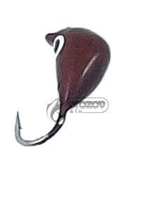 Волфрамови Мормишки с куки Mustad 0.6г / 4мм-10мм